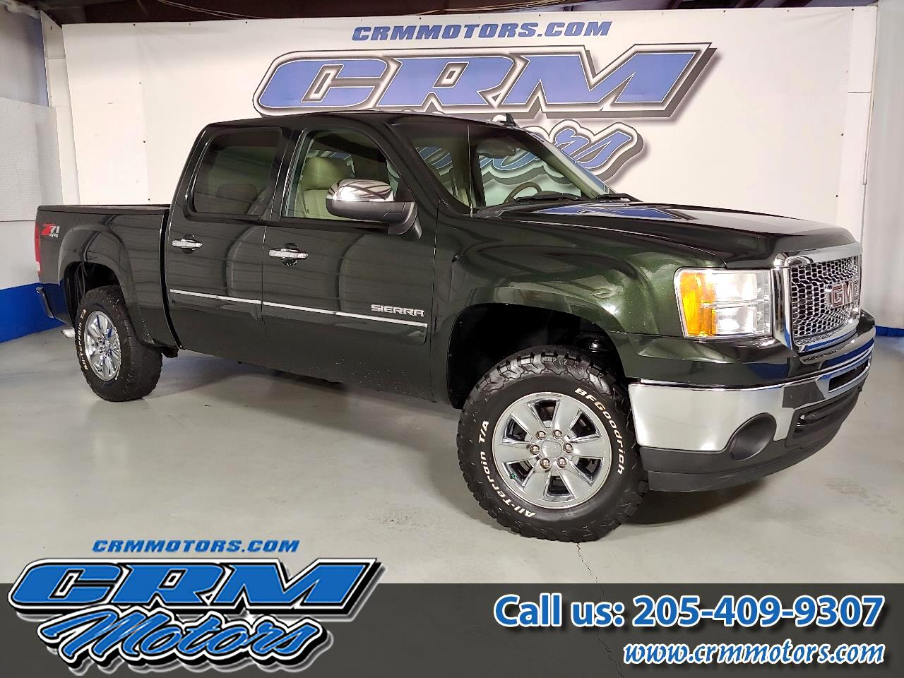 2013 GMC Sierra 1500 4WD, Z71, CREW CAB, SLT WITH LEATHER & MORE!
