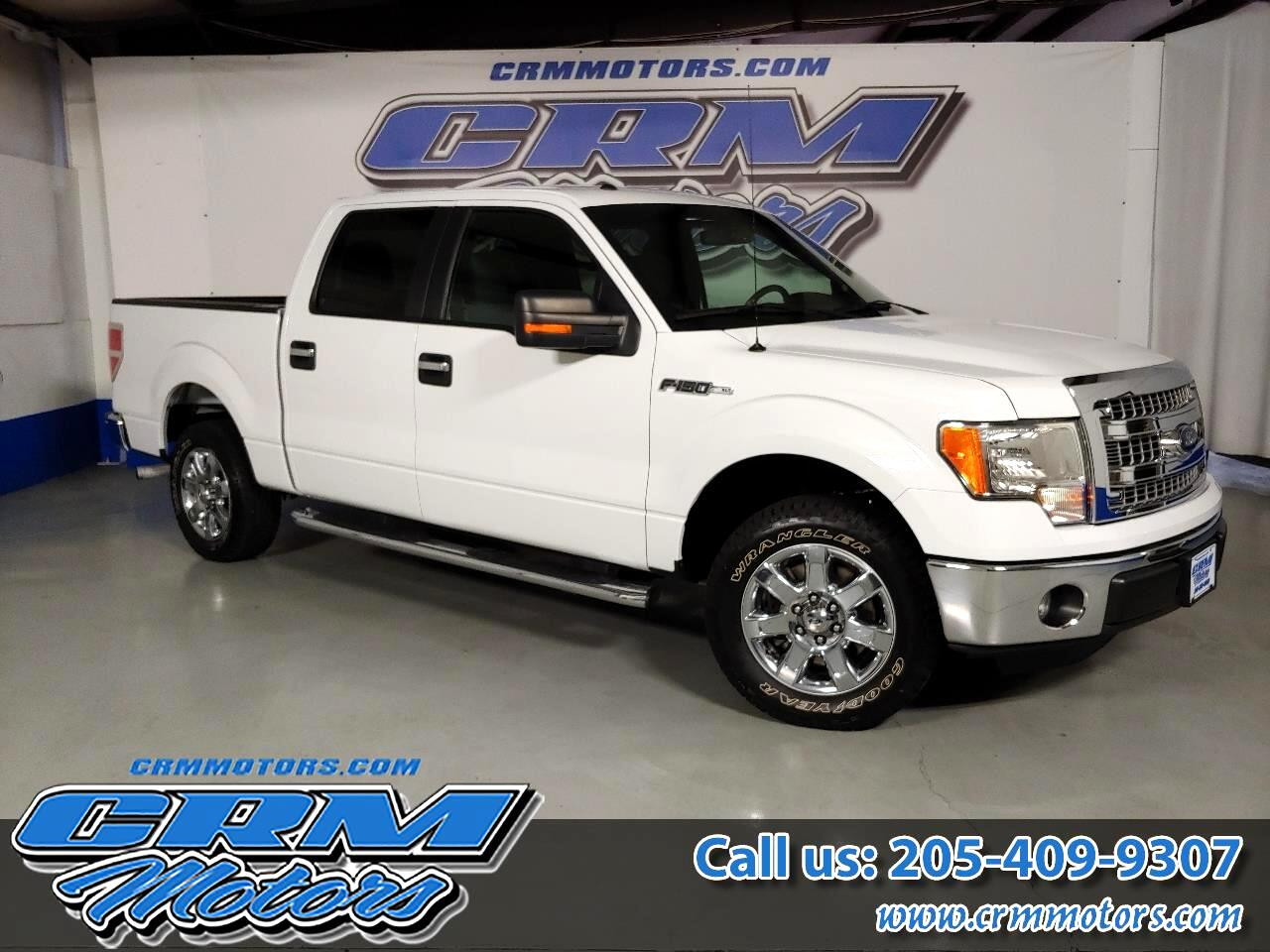 2013 Ford F-150 2WD SUPERCREW XLT, NO ACCIDENT, CLEAN & LOCAL!
