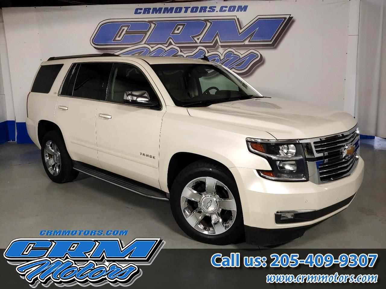 2015 Chevrolet Tahoe 4WD LTZ EVERY OPTION, HTD/CLD SEATS, & MORE!