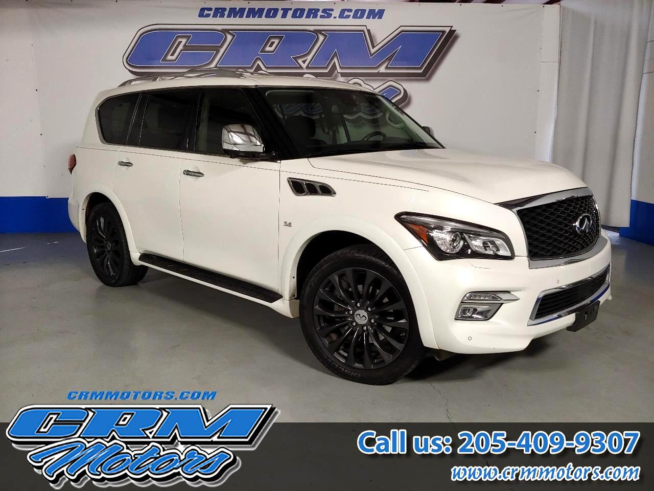 2015 Infiniti QX80 FULLY LOADED PREMIUM FACTORY WHEELS VERY CLEAN!