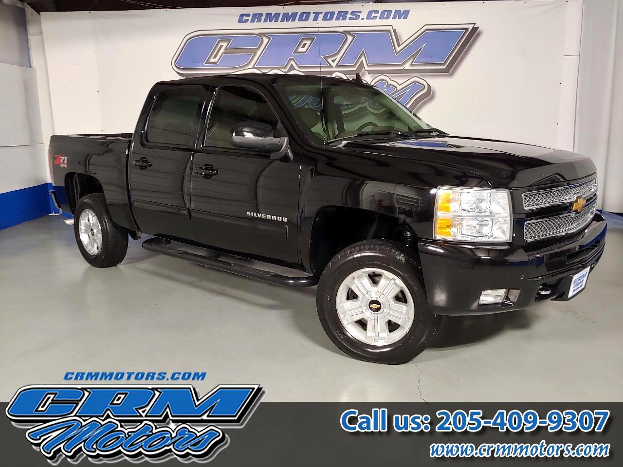 """2012 Chevrolet Silverado 1500 4WD Crew Cab 143.5"""" LT"""