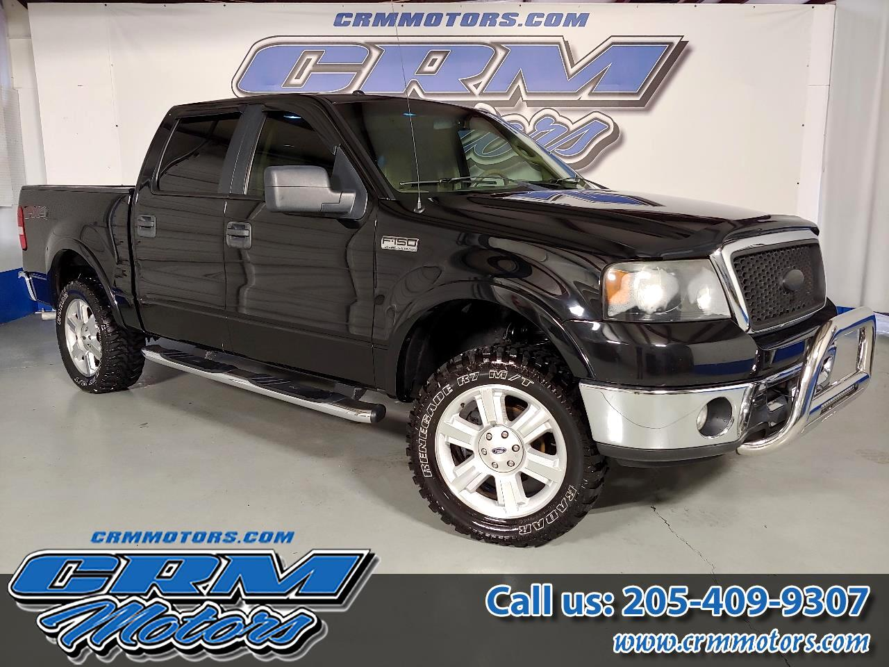 2007 Ford F-150 4WD SUPERCREW LARTIAT WITH ALL TERRAIN TIRES!