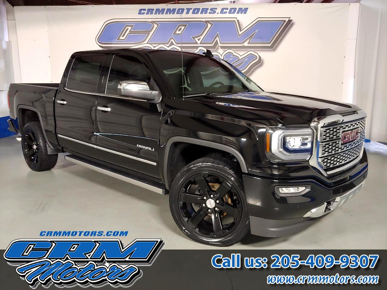 2016 GMC Sierra 1500 4WD CREW CAB DENALI, LOADED, EVERY OPTION!