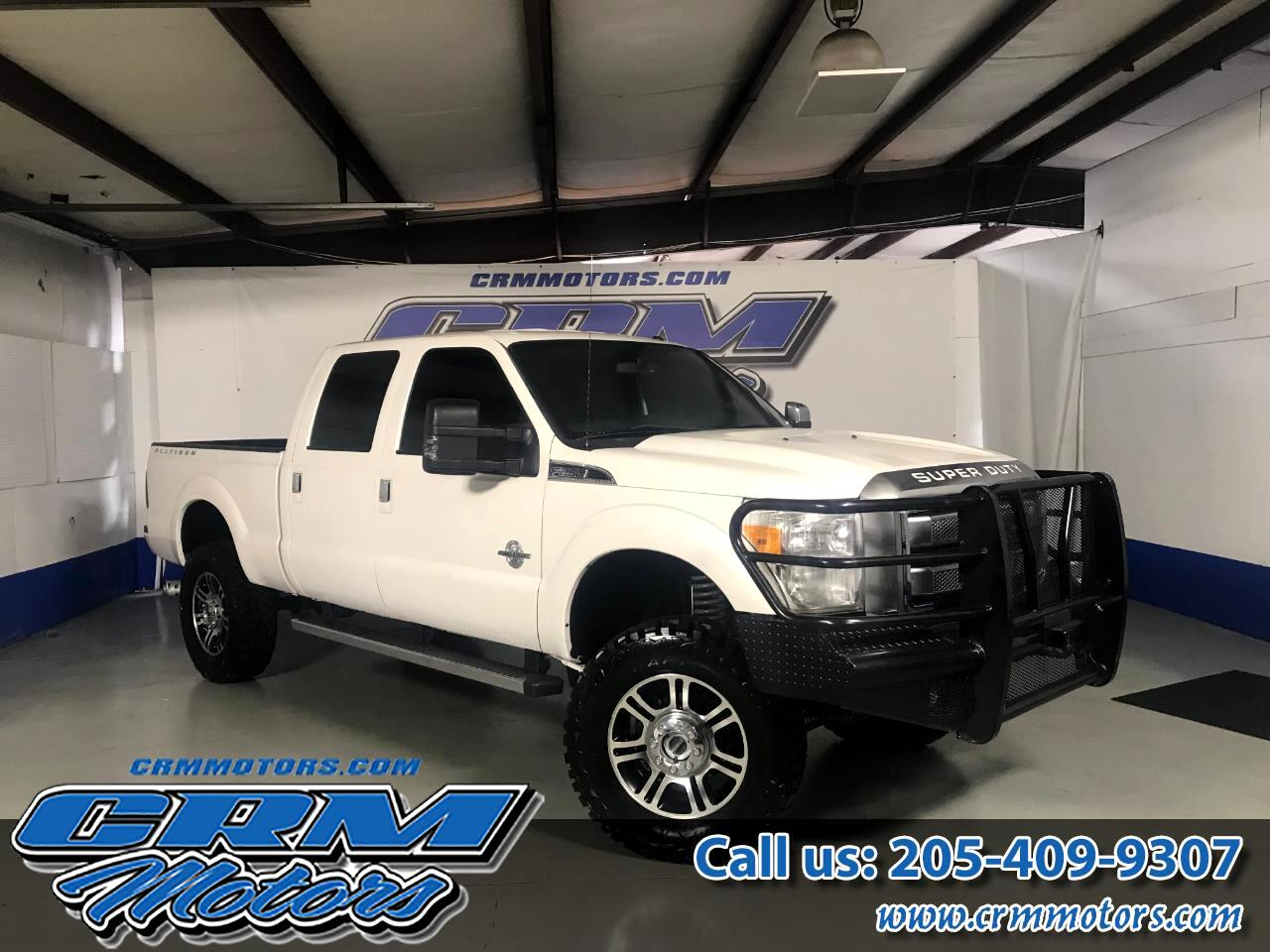 2014 Ford Super Duty F-250 SRW 4WD CREW CAB PLATINUM EDITION!