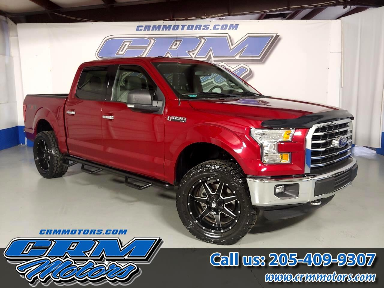 2015 Ford F-150 4WD SUPERCAB XLT CUSTOMER WHEELS / AT TIRES!
