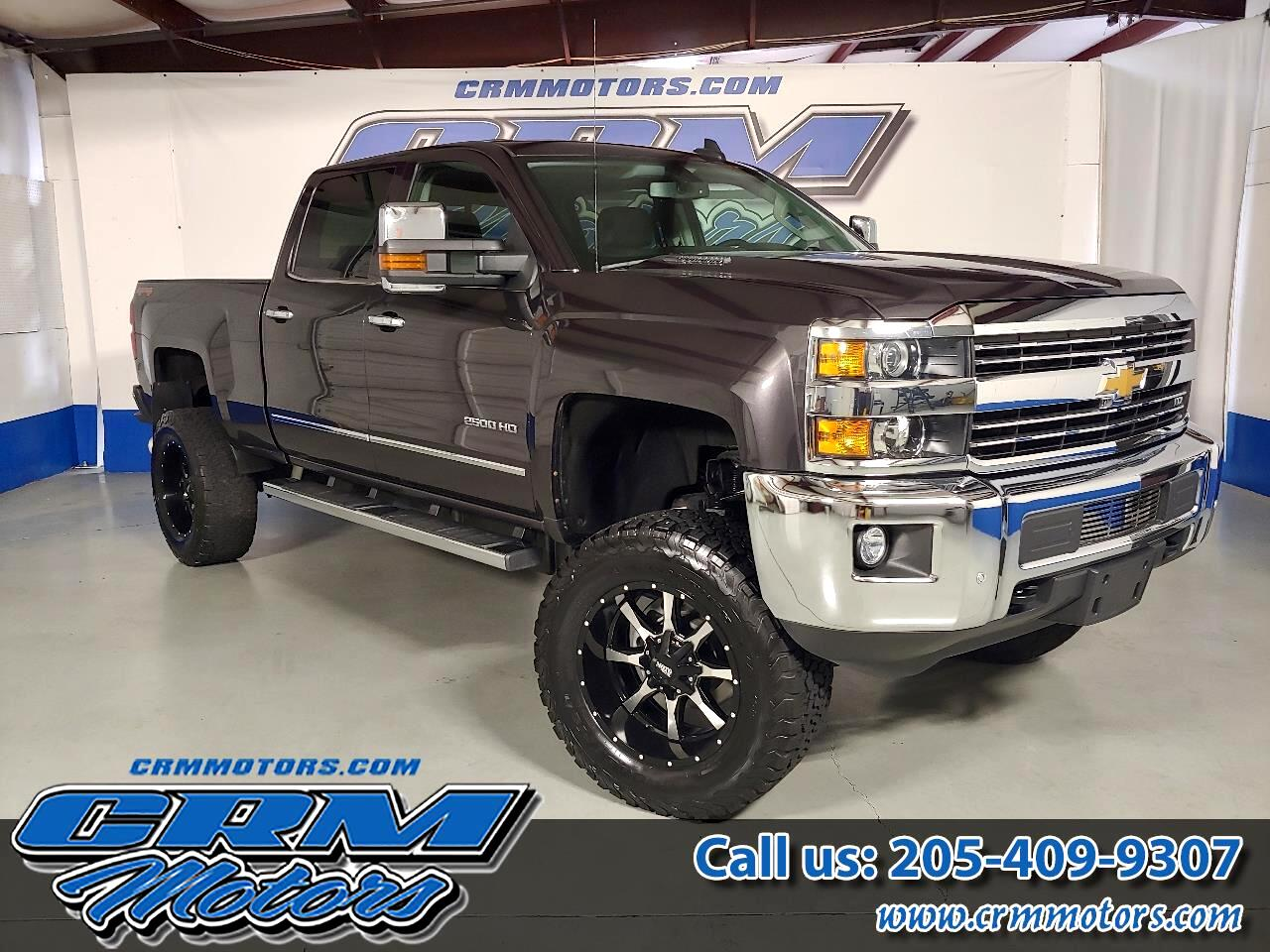 "2015 Chevrolet Silverado 2500HD Built After Aug 14 4WD Crew Cab 153.7"" LTZ"