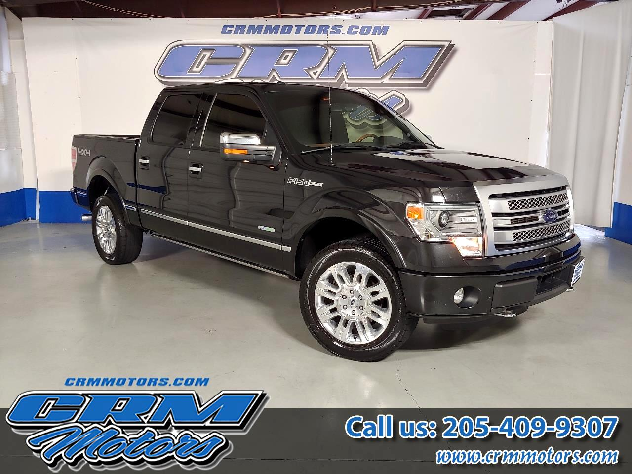 2014 Ford F-150 4WD SUPERCREW PLATINUM EDITION!