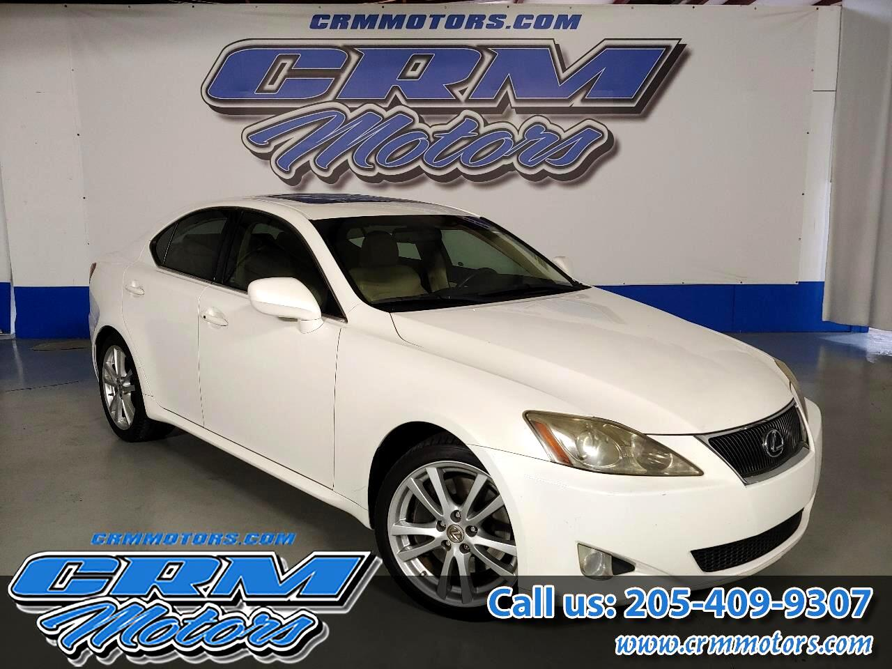 2006 Lexus IS 350 4dr Sport Sdn Auto