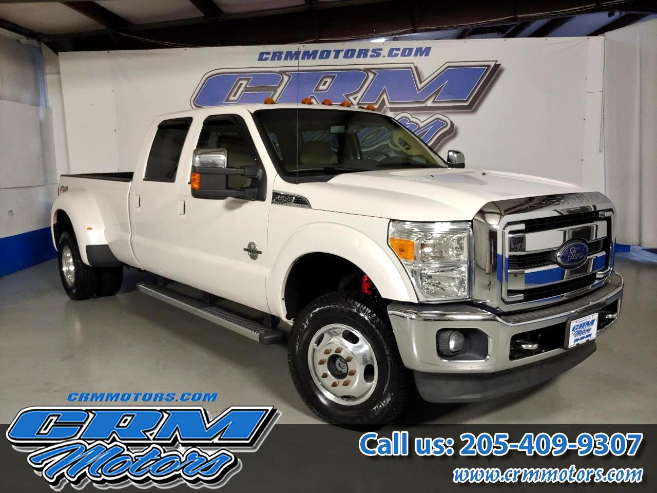2013 Ford Super Duty F-350 DRW 4WD DUALLY CREW CAB LARIAT 6 NEW TIRES!
