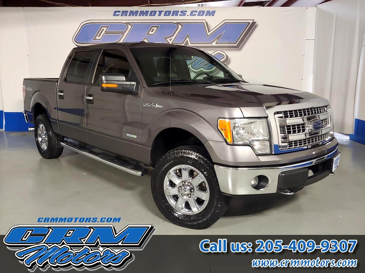 2013 Ford F-150 4WD SUPERCREW XLT ECO BOOST!