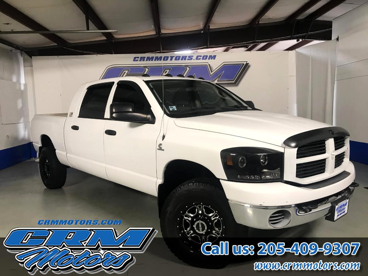 2007 Dodge Ram 3500 4WD MEGA CAB SLT SINGLE WHEEL!