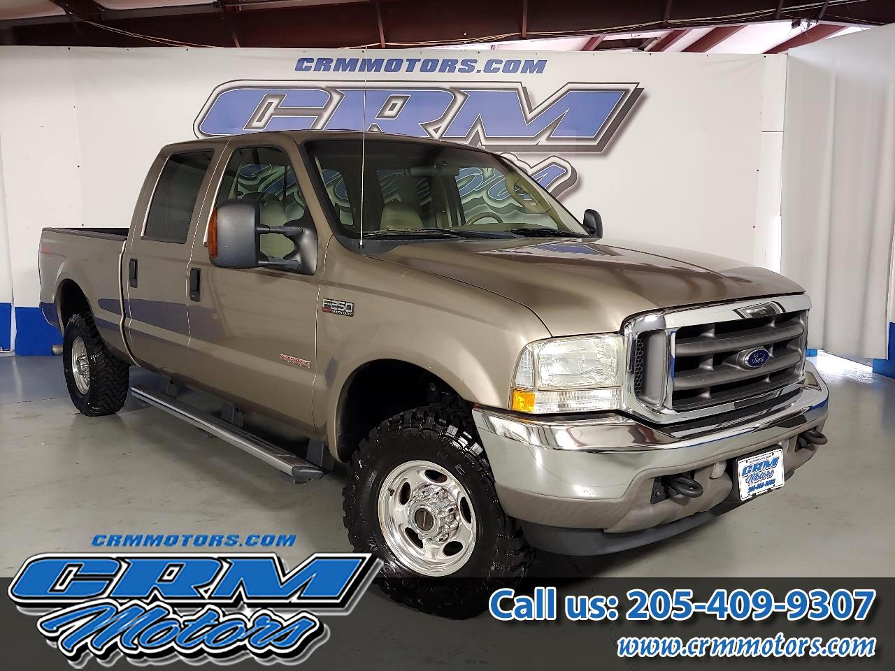 "Ford Super Duty F-250 Crew Cab 156"" Lariat 2004"