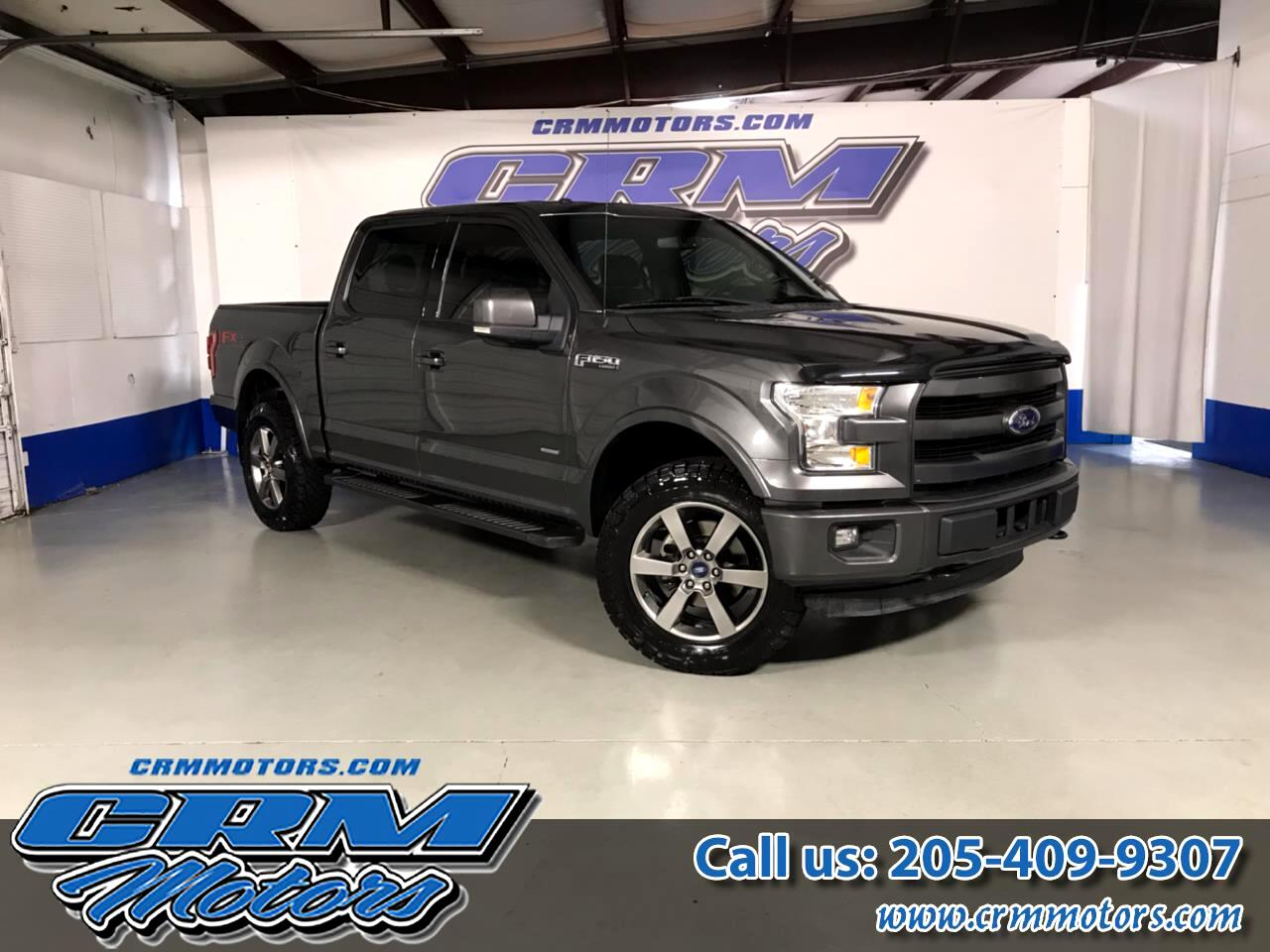 2015 Ford F-150 4WD SUPERCREW LARIAT, LEATHER, ALL TERRAIN TIRES!