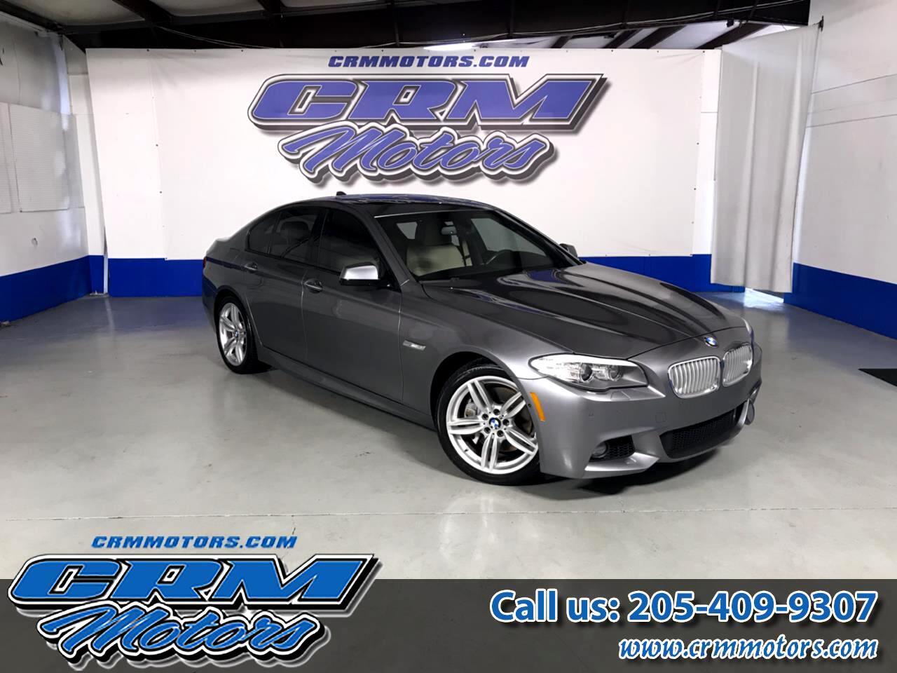 2013 BMW 5 Series 4dr Sdn 550i RWD