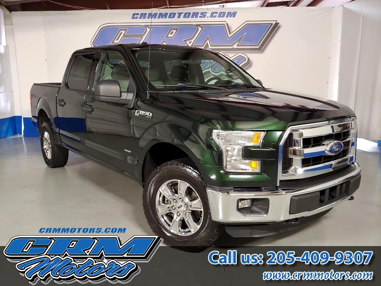 2016 Ford F-150 4WD SUPERCREW XLT, WITH UPGRADED WHEELS!