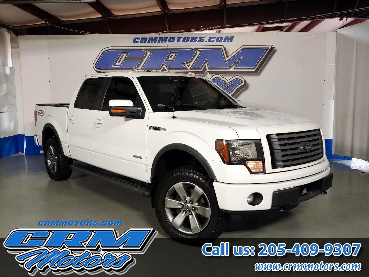 2012 Ford F-150 4WD, FX4, LOADED AND CLEAN!