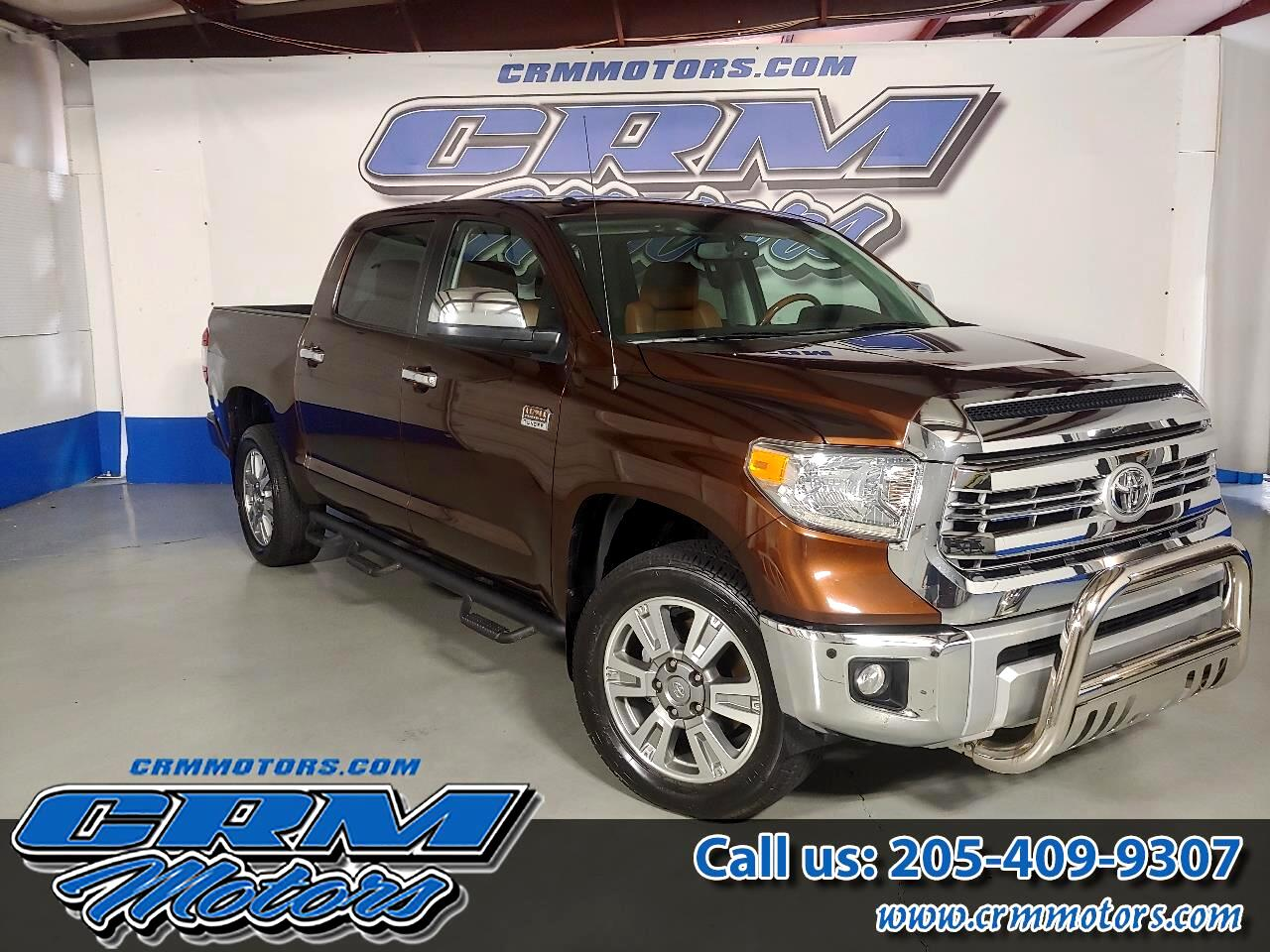 Toyota Tundra 4WD Truck CrewMax 5.7L V8 6-Spd AT 1794 (Natl) 2014