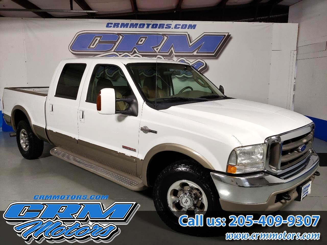 "Ford Super Duty F-250 Crew Cab 156"" King Ranch 2003"