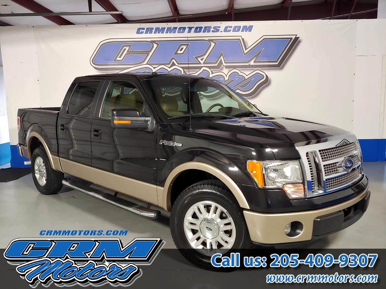 "Ford F-150 2WD SuperCrew 139"" Lariat 2012"