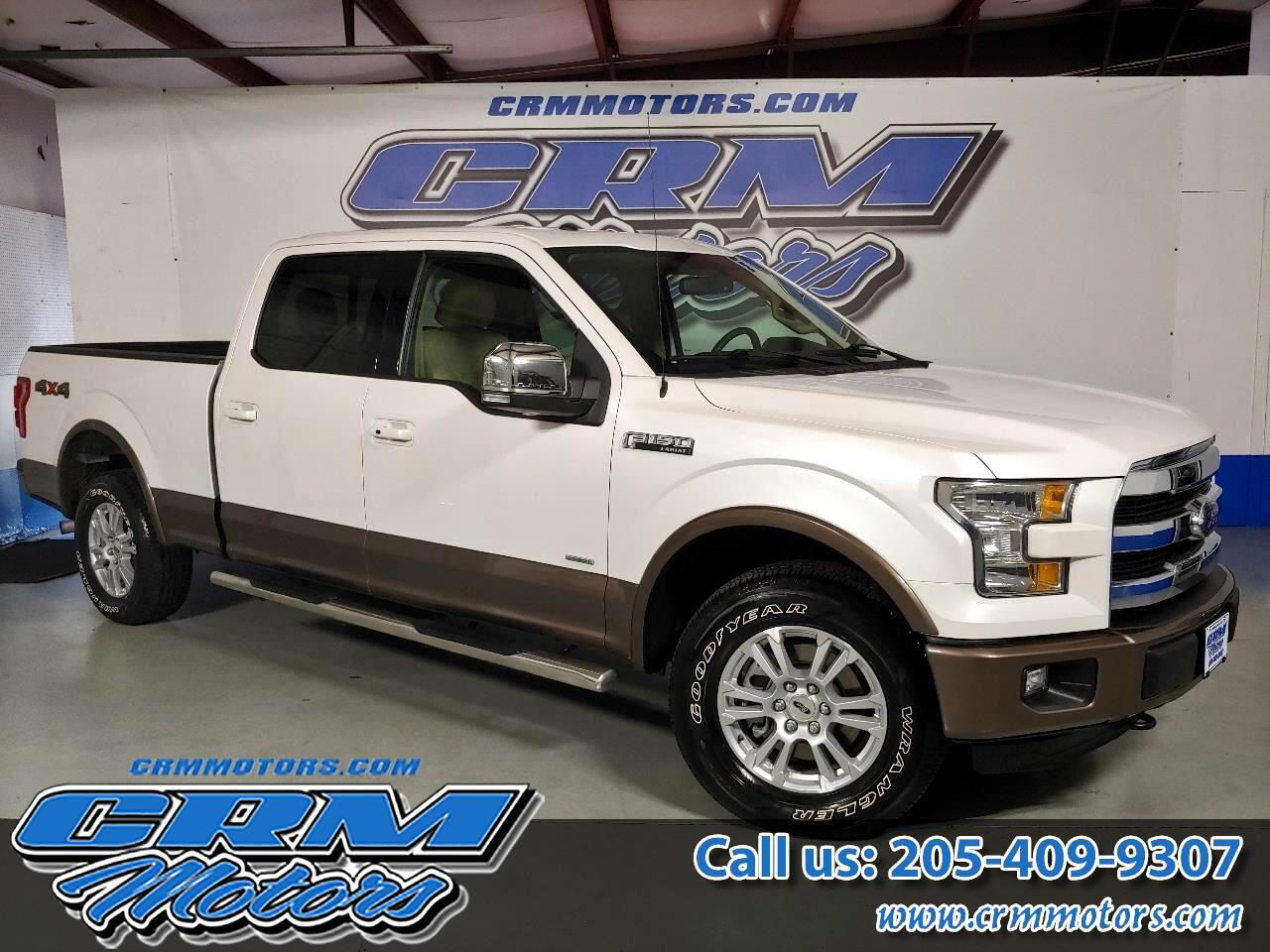 "Ford F-150 4WD SuperCrew 157"" Lariat w/HD Payload Pkg 2015"