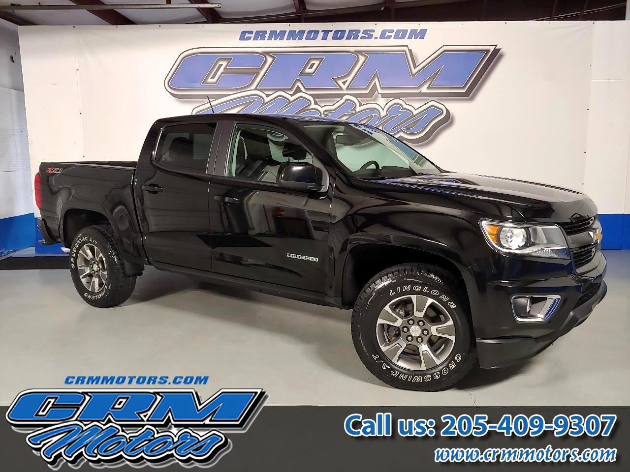 "Chevrolet Colorado 4WD Crew Cab 128.3"" Z71 2017"