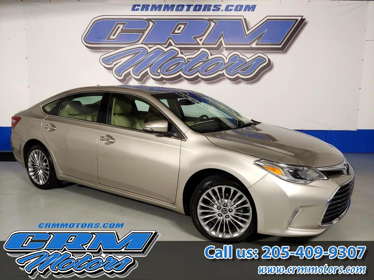 Toyota Avalon 4dr Sdn Limited (Natl) 2016