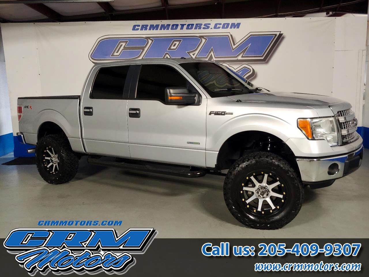 "Ford F-150 2WD SuperCrew 145"" STX 2013"