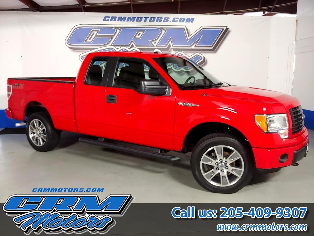 "Ford F-150 4WD SuperCab 145"" STX 2014"