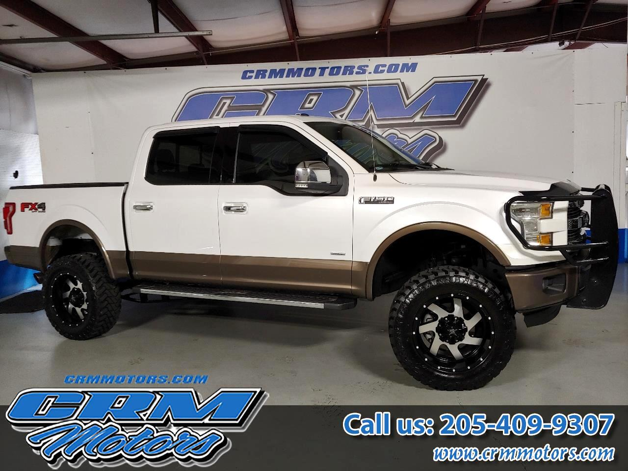 Ford F-150 Lariat 4WD SuperCrew 5.5' Box 2015