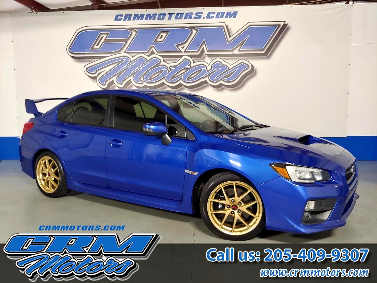 Subaru WRX STI 4dr Sdn Launch Edition 2015