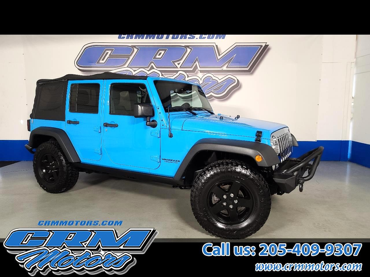 Jeep Wrangler Unlimited Big Bear 4x4 *Ltd Avail* 2017