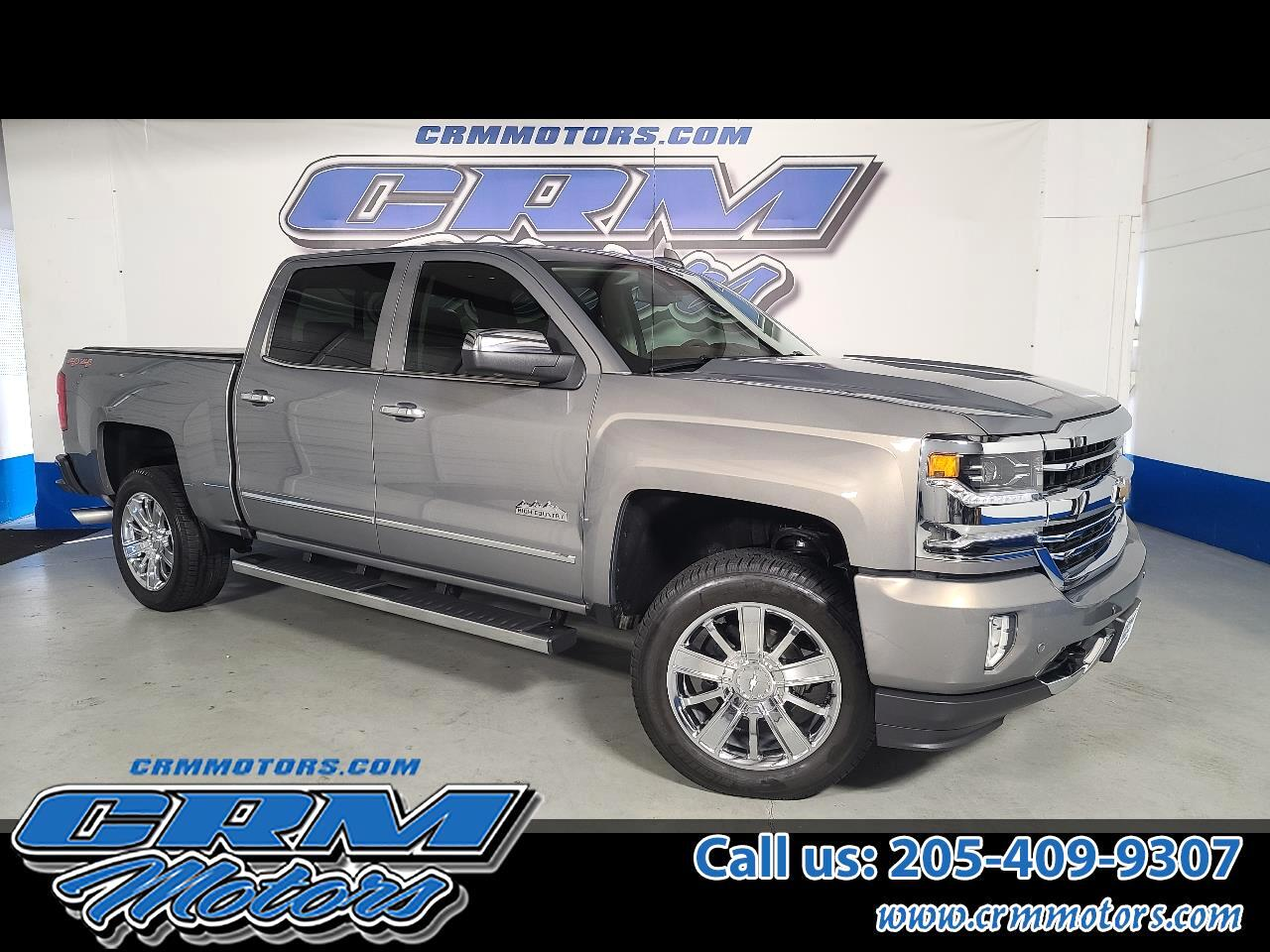 "Chevrolet Silverado 1500 4WD Crew Cab 143.5"" High Country 2017"