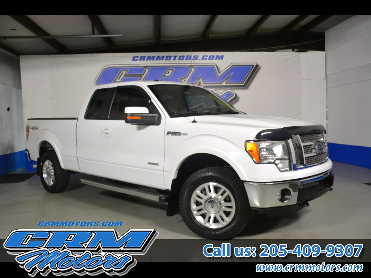 Ford F-150 Lariat SuperCab 6.5-ft. 4WD 2012