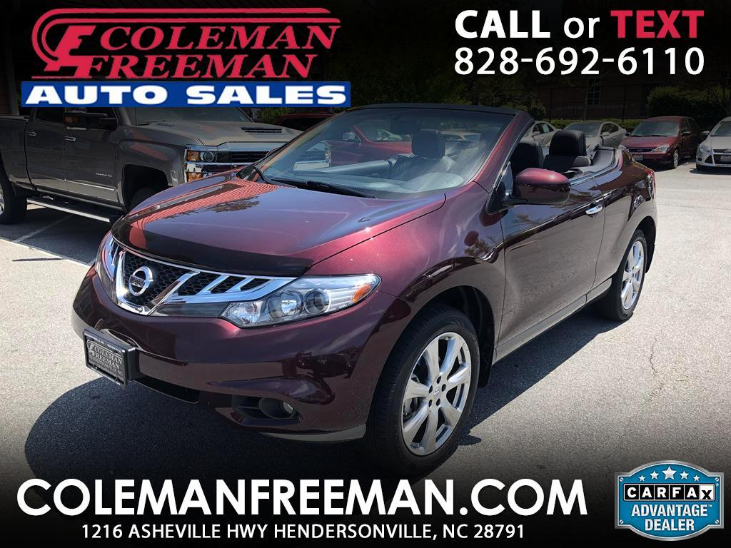 2014 Nissan Murano CrossCabriolet AWD 2dr Convertible