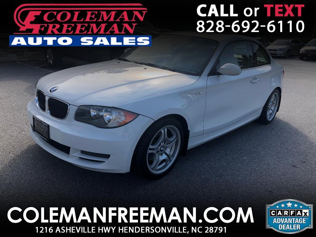 2008 BMW 1 Series 2dr Cpe 128i