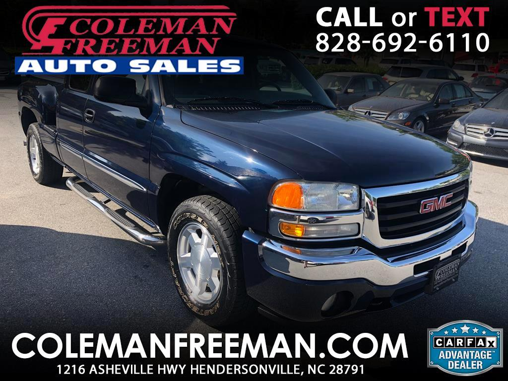 2005 GMC Sierra 1500 SLT Ext. Cab Std. Box 2WD