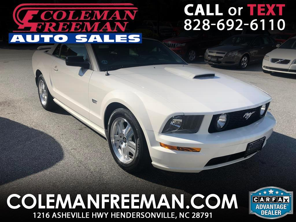2007 Ford Mustang 2dr Conv GT Deluxe