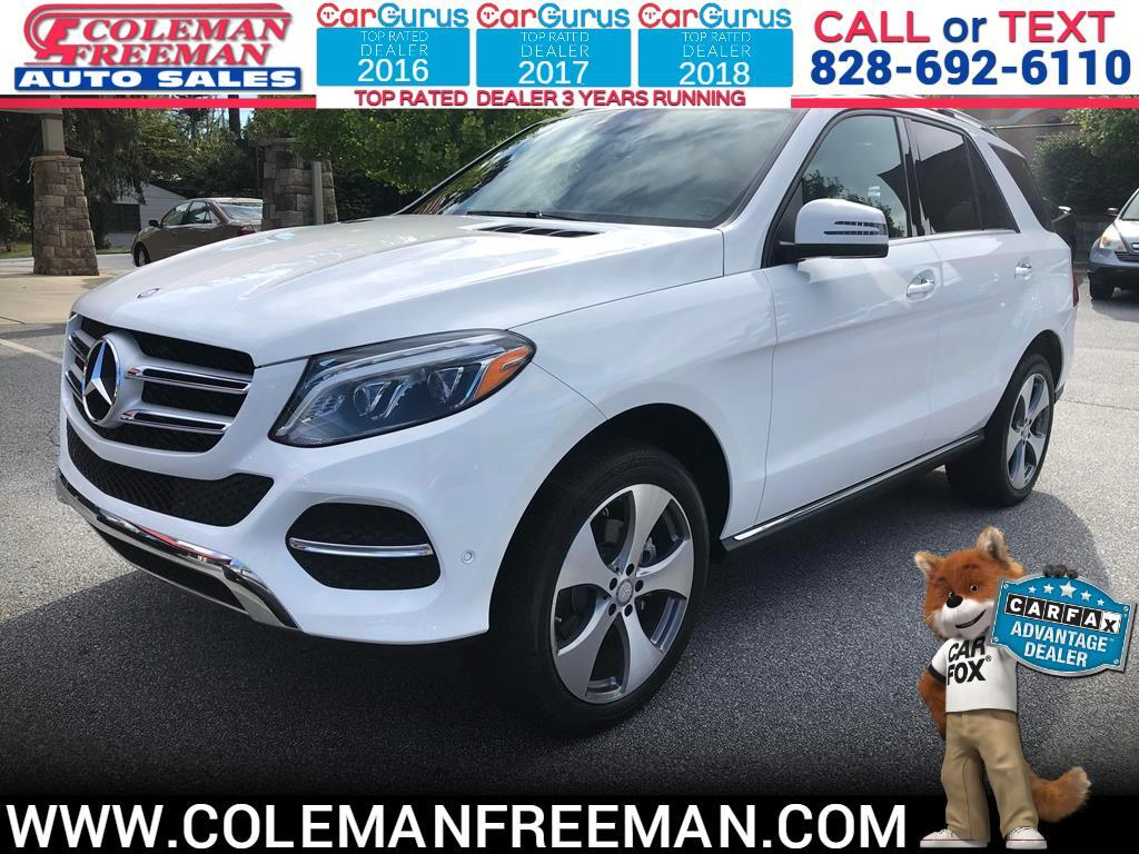 2016 Mercedes-Benz GLE 4MATIC 4dr GLE 300d