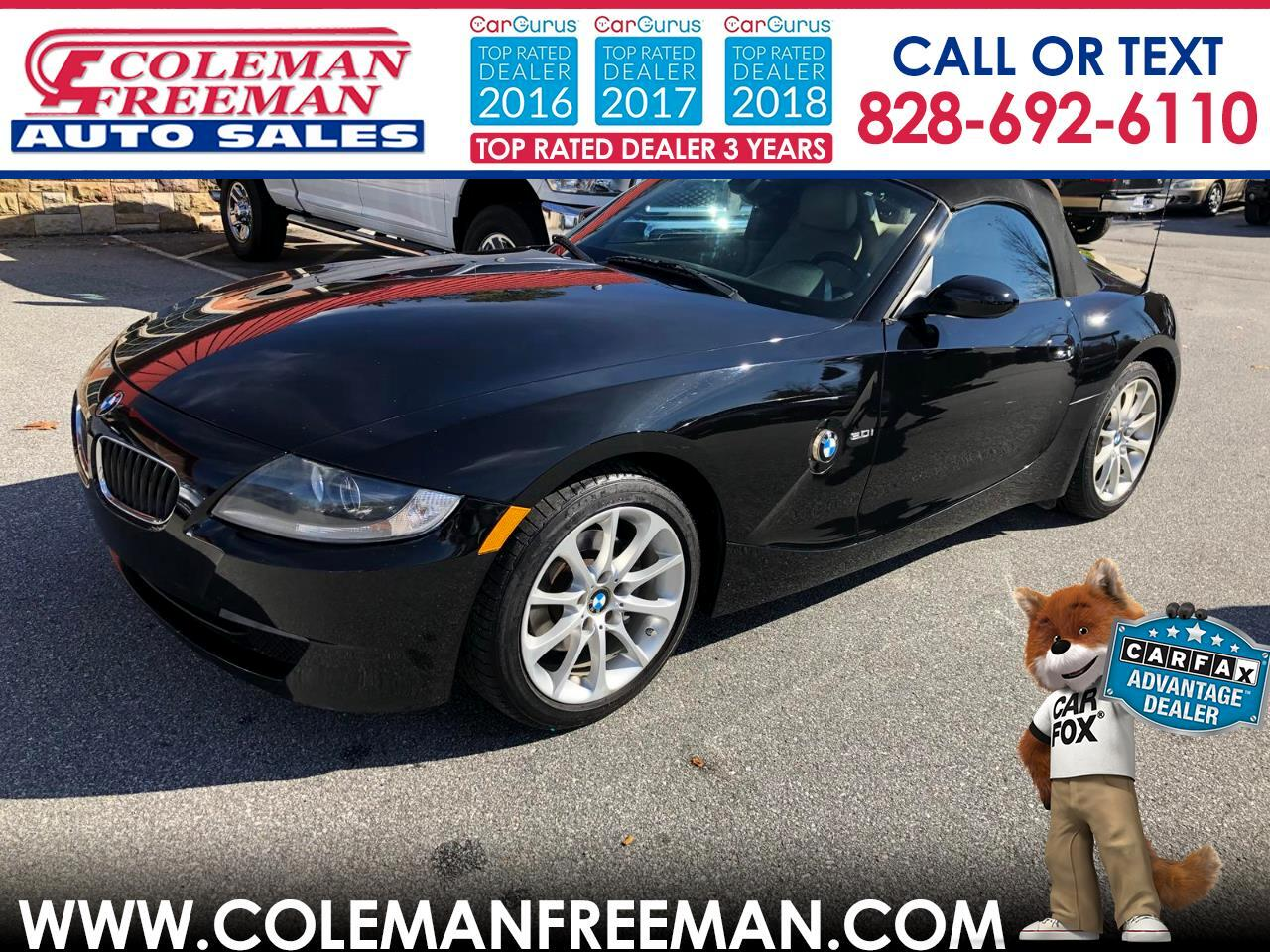 2008 BMW Z4 2dr Roadster 3.0i