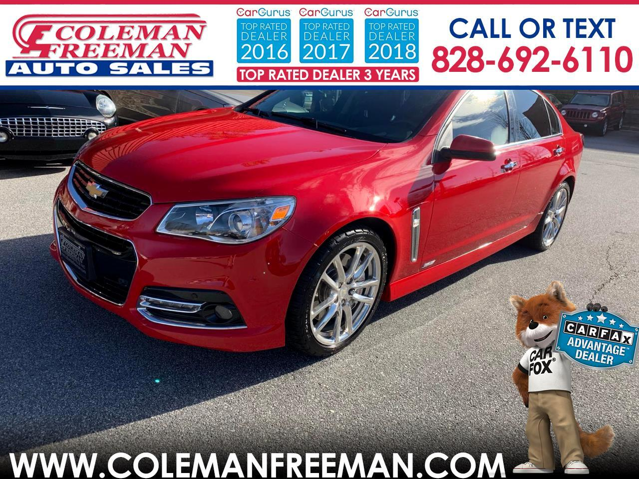 2014 Chevrolet SS 4dr Sdn