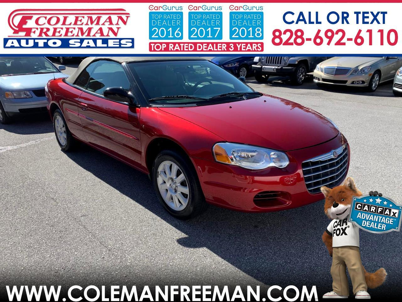 2004 Chrysler Sebring 2004 2dr Convertible GTC