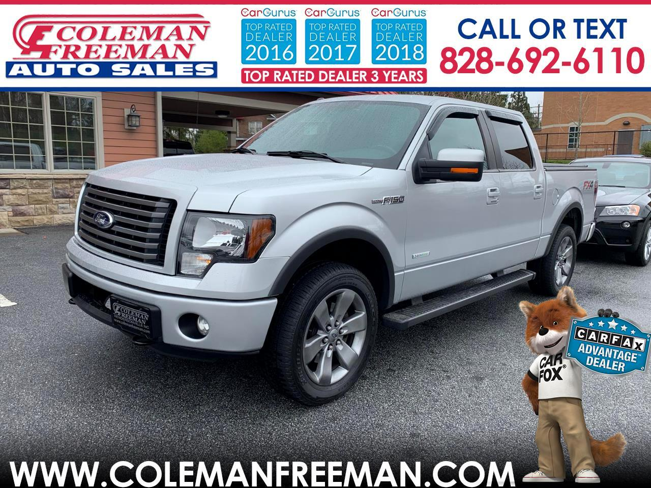 """2012 Ford F-150 4WD SuperCrew 145"""" FX4"""