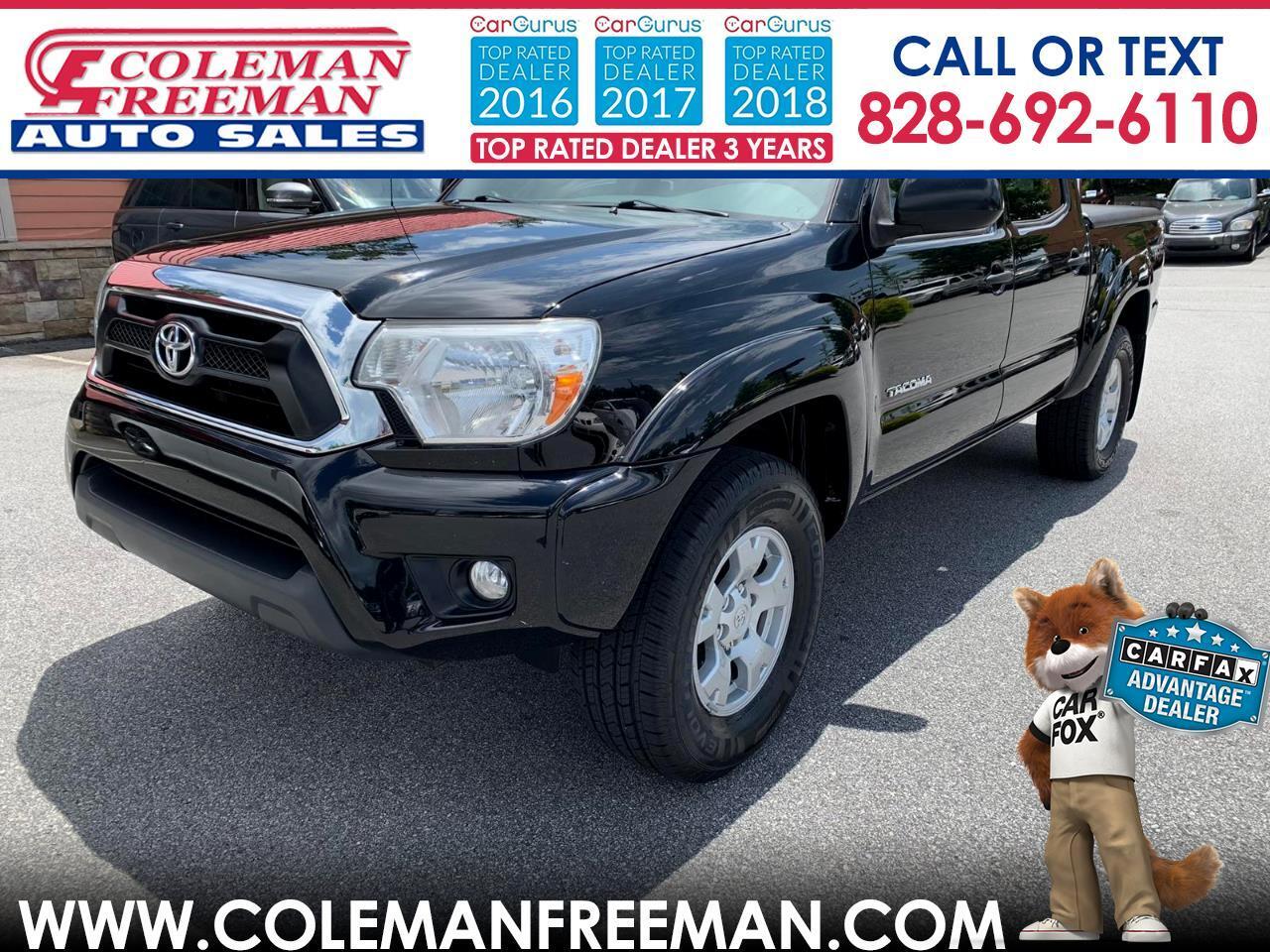 2012 Toyota Tacoma 4WD Double Cab V6 AT (Natl)