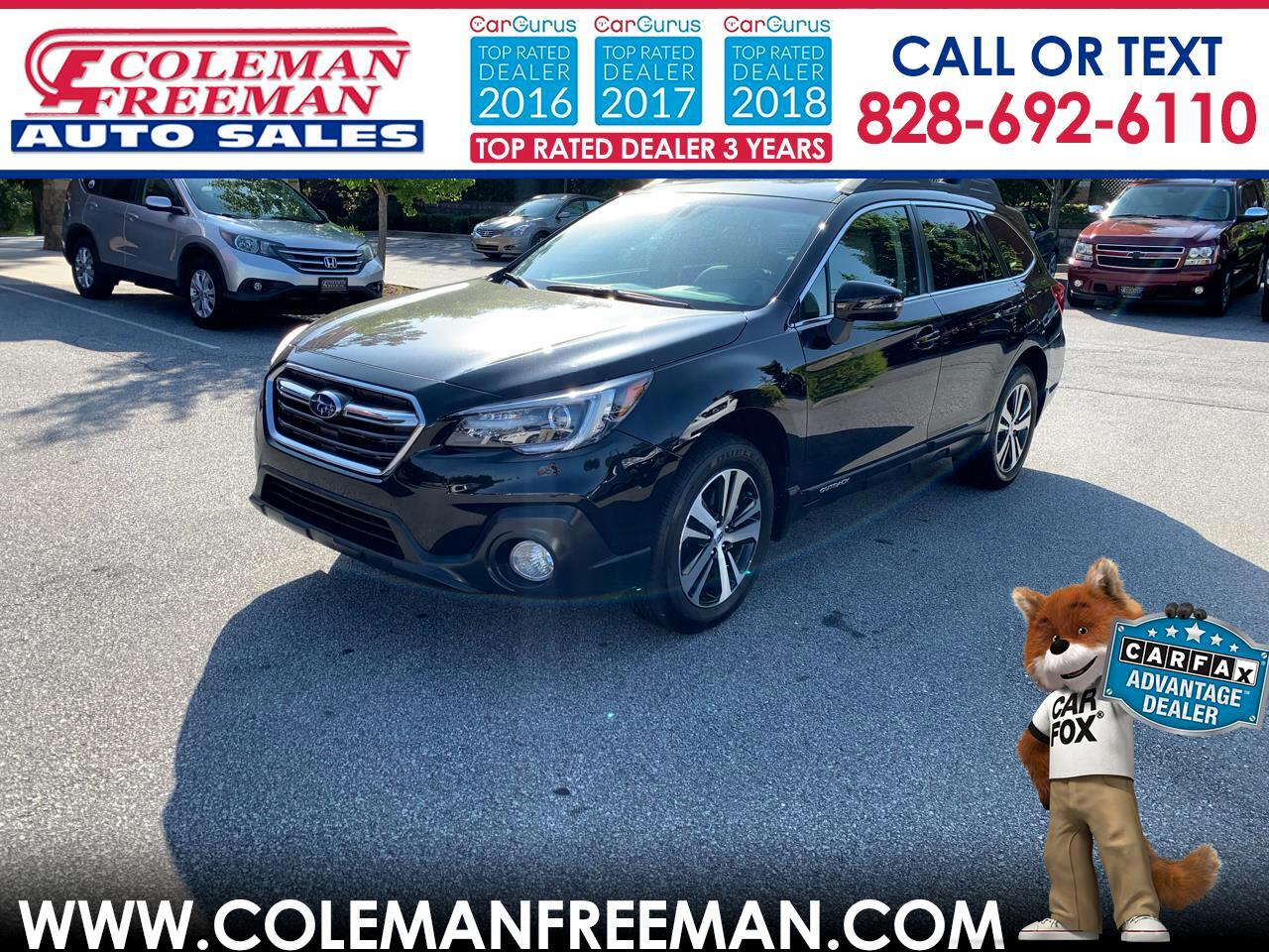 Outback Hendersonville Nc >> Used 2018 Subaru Outback 2 5i Limited For Sale In