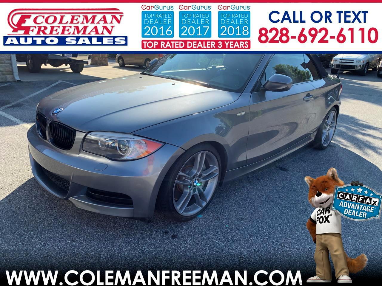 2013 BMW 1 Series 2dr Conv 135i