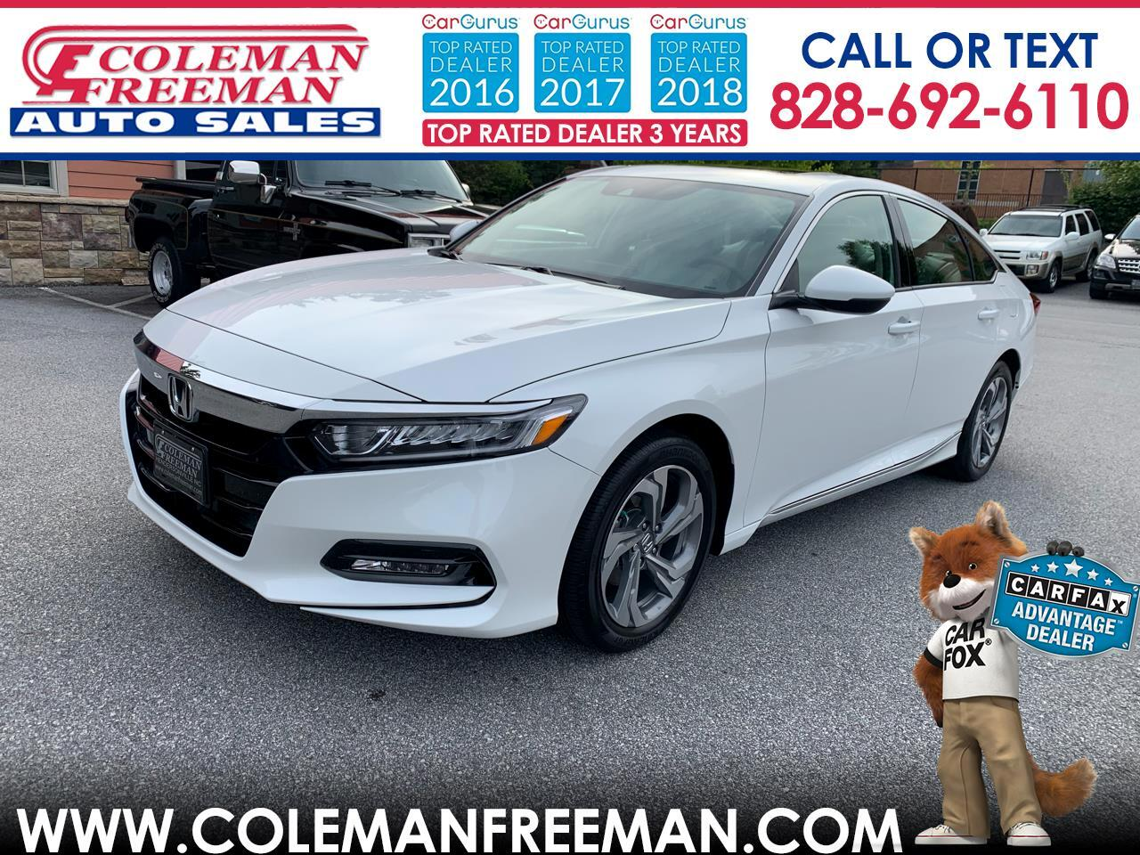 Honda Accord Sedan EX-L 1.5T CVT 2019