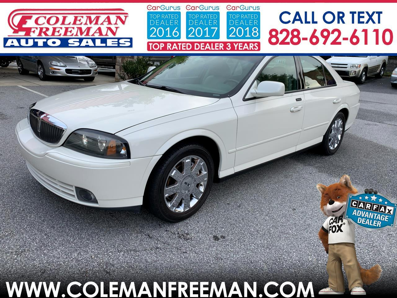 Lincoln LS 4dr Sdn V8 Auto w/Ultimate Pkg 2005