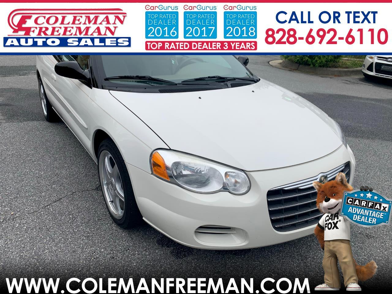 2004 Chrysler Sebring 2004 2dr Convertible LX