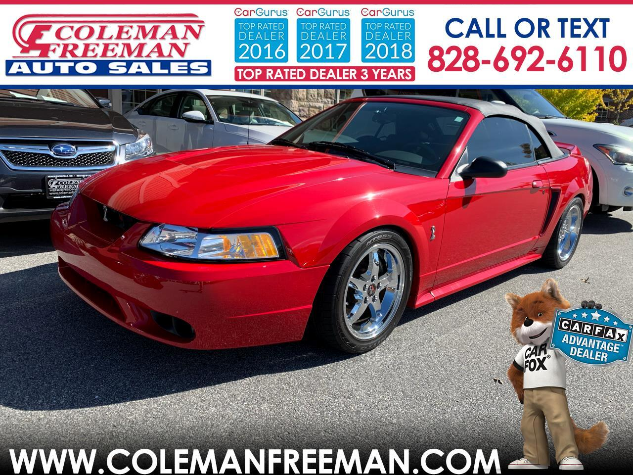 Ford Mustang 2dr Convertible SVT Cobra 1999