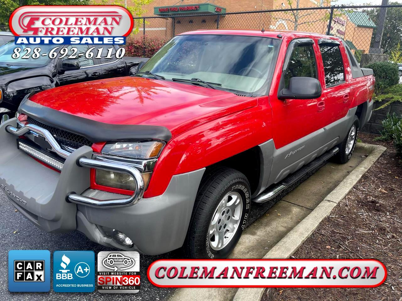 """Chevrolet Avalanche 1500 5dr Crew Cab 130"""" WB 4WD 2002"""